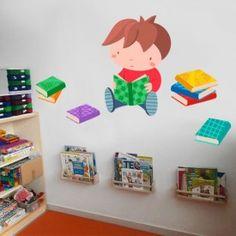 Classroom Walls, Preschool Classroom, Preschool Crafts, Classroom Decor, Crafts For Kids, Preschool Reading Corner, School Library Displays, School Murals, Classroom Organisation