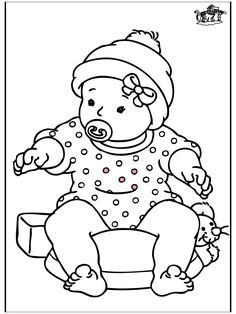 Kleurplaten Baby Born.Kleurplaten Van Baby Born Kerst 2018