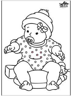 Baby Meisje Tekening Archidev