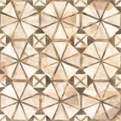 Framed Umber Tile IV Print