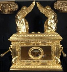 Ark Of The Covenant The Ark is considered the greatest of all hidden treasures and its discovery would provide indisputable truth that the Old Testament is hard fact. Its recovery remains the goal of every modern archaeologist and adventurer. Its purpose was as a container for the ten commandments given on stone tablets by God to Moses on Mount Sinai. According to the book of Exodus, the Ark is made of shittim wood (similar to acacia) and gold-covered inside and out.