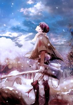 *Breaths in, sighs happily* the beautiful, pure white snow....