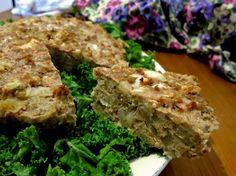 Cauliflower Gorgonzola Turkey Bake