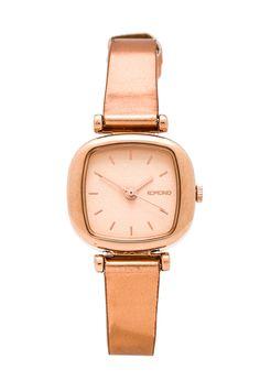 Metallic Rose Gold watch