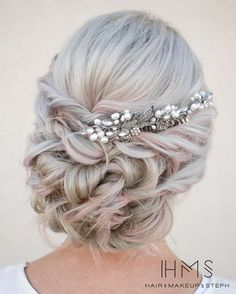 twisted wedding updo