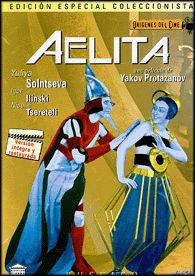 Aelita (1924) Unión Soviética. Dir.: Yakov Protazanov. Ciencia ficción. Aventuras - DVD CINE 1963
