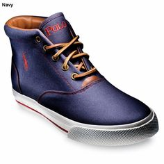 Polo Ralph Lauren Men's Canvas High-Top Chukka $46 (on sale!)