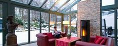 Image result for wintergärten Solar, High Class, New Homes, Patio, Interior Design, Garden, Outdoor Decor, Image, Home Decor