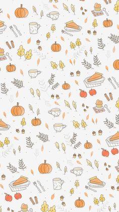 Cute Fall Wallpaper, November Wallpaper, Pretty Phone Wallpaper, Halloween Wallpaper Iphone, Holiday Wallpaper, Cute Patterns Wallpaper, Iphone Background Wallpaper, Aesthetic Iphone Wallpaper, Of Wallpaper