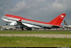 Northwest Airlines 747