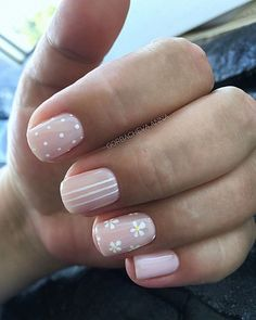gel nails designs 7 - gel nails designs 7 If you have not ever considered gel nails before now might be a good time to create the change. The truly amazing thing about gel nails that's also mu… Stylish Nails, Trendy Nails, White Nails, Pink Nails, Hair And Nails, My Nails, Nail Manicure, Summer Gel Nails, Nails Polish