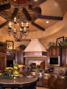 Mediterranean Kitchen Design, Pictures, Remodel, Decor and Ideas - page 15