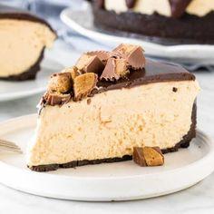 sugar. Peanut Butter Cheesecake, Creamy Peanut Butter, Pumpkin Cheesecake, Cheesecake Recipes, Peppermint Cheesecake, Cheesecake Bars, Pumpkin French Toast, Chocolate Cheese, Cookie Crust