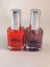 pure ice nail polish lot Two Colors Hot Tamale & Dark side