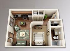 Dhosh: 5 Dicas para montar o seu quitinete/apartamento