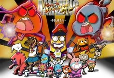 The Amazing World of Gumball Amazing World Of Gumball Street Fighter 4