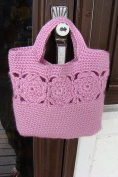 Crochet Tote Inspiration (you have to register to see more)