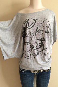 "Octane Apparel - ""Pray for Me, I Feel A Sin Coming On"" Dolman Sleeve Shirt, $29.00 (http://www.octane-apparel.com/pray-for-me-i-feel-a-sin-coming-on-dolman-sleeve-shirt/)"
