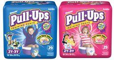 *HOT* Huggies Coupons = Huggies Pull-Ups for as low as $0.16 each!