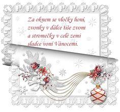 Vánoční přání s říkankou | vánoční blog Christmas And New Year, Christmas Time, Petra, Advent, Humor, Cards, Blog, Cheer, Maps