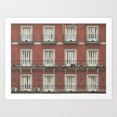 Windows Art Print by Yarapoctli - $14.60