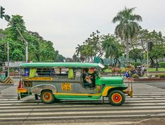A colorful jeepney bus in Manila, PhilippinesYou can find Manila philippines and more on our website.A colorful jeepney bus in Manila, Philippines Philippines People, Visit Philippines, Philippines Culture, Manila Philippines, Philippines Travel, Exotic Beaches, Tropical Beaches, Bohol, Viajes
