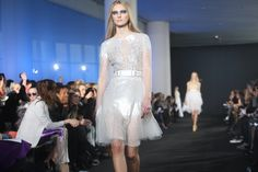 Shine and transparency from Prabal Gurung's Fall 2012 collection. Photo: Hiroko Masuike/The New York Times