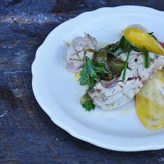 Tuna with Mint Oil and Pepperonata Recipe on Food52 recipe on Food52