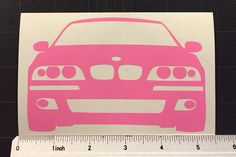 BMW e39 m5 Vinyl Decal Sticker 5 series Stance by ZsquareDesigns on Etsy https://www.etsy.com/listing/250319350/bmw-e39-m5-vinyl-decal-sticker-5-series