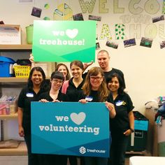On Monday, our Public Policy team volunteered in the Treehouse Wearhouse. They sorted and tagged donated clothing and school supplies for the free Treehouse store! @communityhealthplanwashington loves all the work that Treehouse does for foster children in Washington and we are regular volunteers at their organization! #treehouse #treehouseforkids #treehousewearhouse #foster
