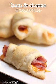 Ham & Cheese Crescents – Six Sisters' Stuff