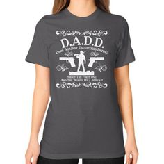 Fashions dadd Unisex T-Shirt (on woman)