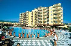 Turkije, Alanya, Hotel Totan Garden 4*.  Ligt op 300 m van het strand en op  800 m van centrum van Konakli