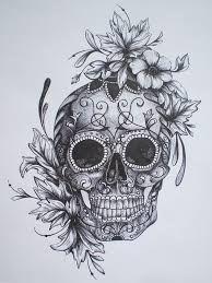 feminine sugar skull - Google Search