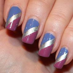 Dakila´s NailBlog - Winter Stripes in Spring