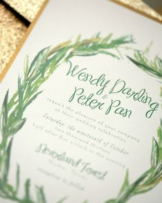 Peter Pan themed wedding  |  The Frosted Petticoat Blog