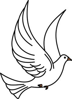 Visit this site to discover the origin and meaning of a huge selection of Christian Symbols. History, Facts, Information, Videos and Pictures of Christian Symbols. Everything you need to know about Christian Symbols! Embroidery Designs, Dove Tattoos, Cartoon Birds, Dove Bird, Christian Symbols, Free Stencils, Wood Burning Patterns, Clipart Black And White, Bird Silhouette
