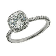 #10311 Platinum & Diamond Engagement Ring