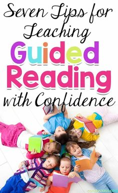 Looking for some teaching strategies to help you teach guided reading with confidence? Need some tips on how to teach guided reading? This post has seven practical strategies that will help you to do that will skill. It is geared just for kindergarten and first grade classrooms. Whether you want some ideas on how to do word work activities at a guided reading table with skill or how to get in all those assessments, you will find some helpful tips to improve your practice.
