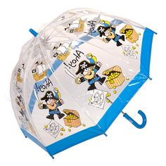 View our wide range of BUGZZ rain umbrellas for kids, including the Clifton Childrens Kids BUGZZ Series Pirates. Made from clear PVC featuring cute Designs.