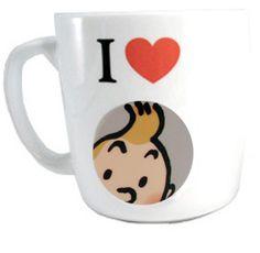 tintin mug
