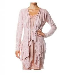 Odd Molly Timeout Wrap Cardigan in Golden Rose