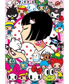 Tokidoki & Hello Kitty