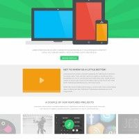 Free PSD: Display Website Template » Design You Trust