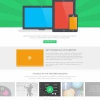 Free PSD: Display Website Template » Design You Trust