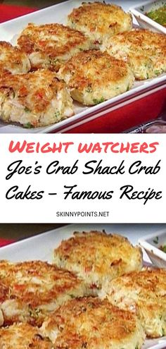 Joe's Crab Shack Crab Cakes – Famous Recipe - #weightwatchers #weight_watchers #Healthy #Joe's #Cakes #skinny_food #Crab #recipes #smartpoints