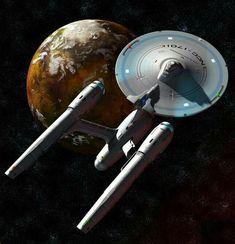 I'm running late, so on with the important stuff: Enterprise by Aggi, Shuttle by… Star Trek Beyond, Star Trek Tos, Star Wars, Star Trek Starships, Star Trek Enterprise, Star Trek Wallpaper, Star Trek Models, Stark Trek, Star Trek Images