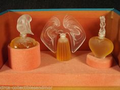 Lalique Ultimate Collection Le Nu Amour Ondines Perfume Flacons Boxed Fragrances