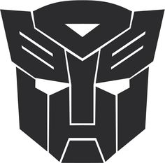 Vector Of the world: Autobot Transformers logo - Use as a stencil for a cake!