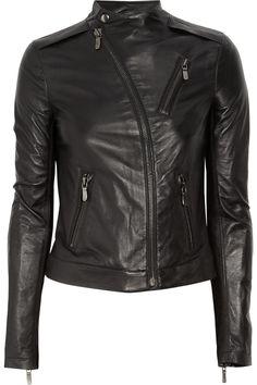 Minimal and sleek. Love the curved asymmetrical zipper. by J Brand. xoxo, k2obykarenko.com